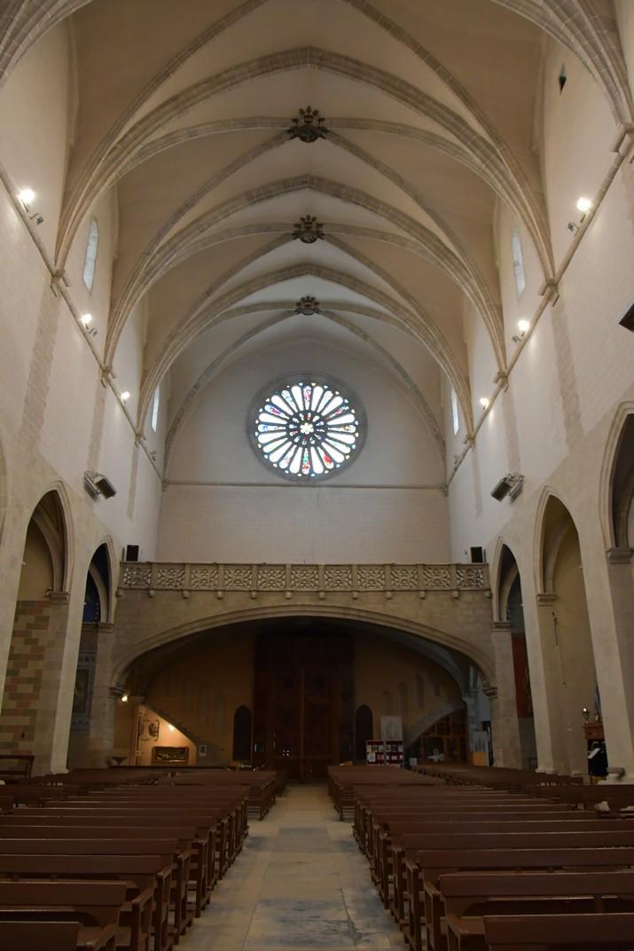 Rosassa de l'església de Sant Joan Baptista de Valls