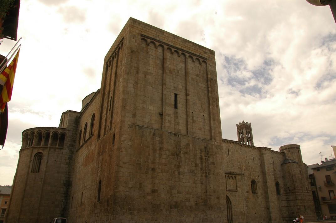 Torre de Sant Salvaor de la Catedral de Santa Maria de la Seu d'Urgell