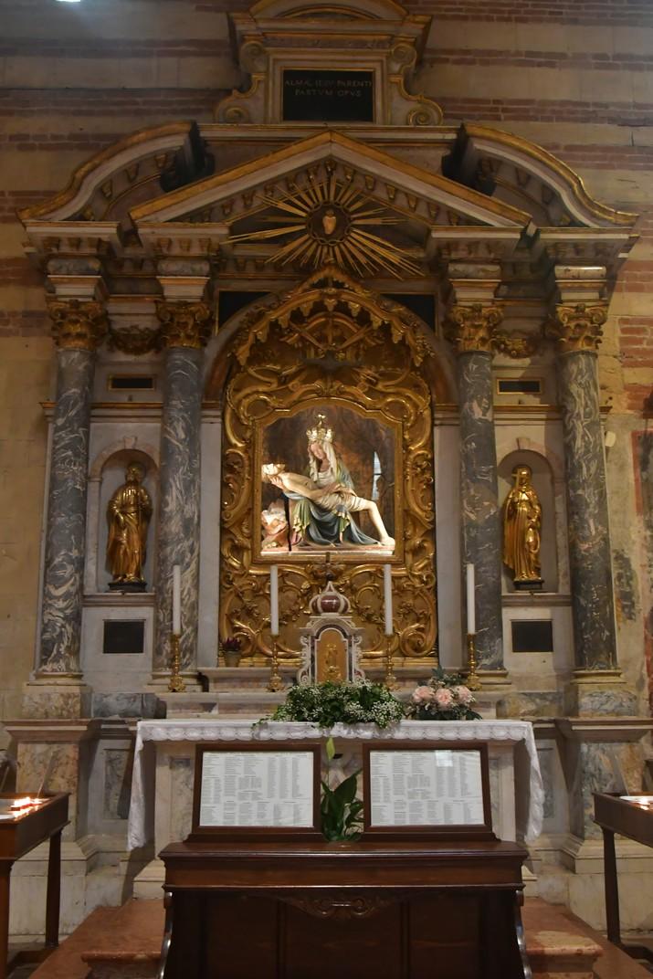 Altar barroc de la Basílica de Sant Zenó de Verona