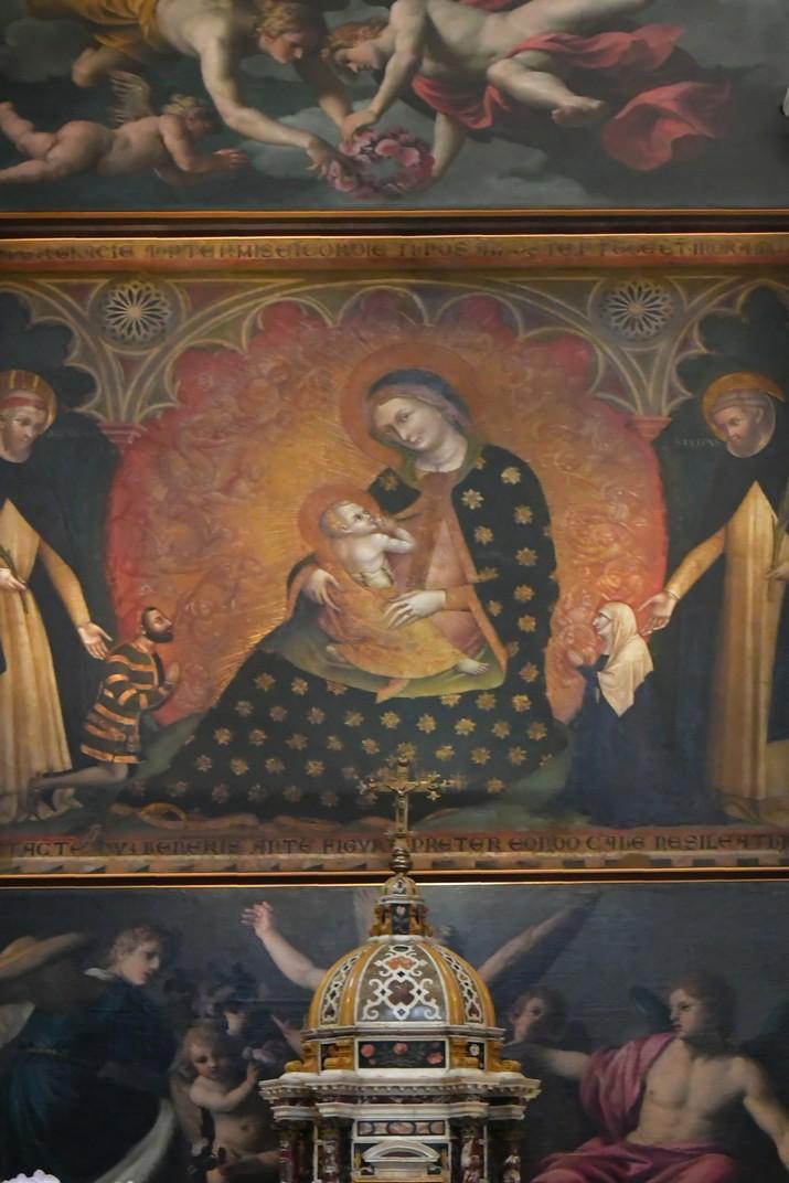 Altar de la capella del Rosari de la Basílica de Santa Anastàsia de Verona