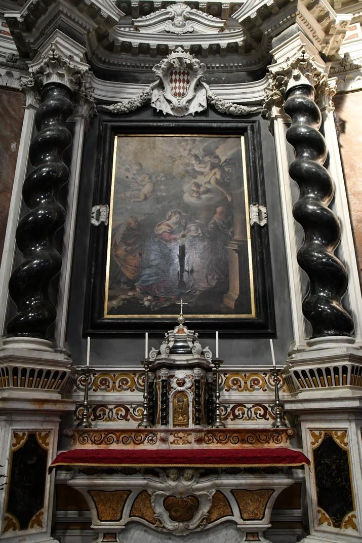 Altar de la Visitació del Santuari de Nostra Senyora de la Costa de Sanremo