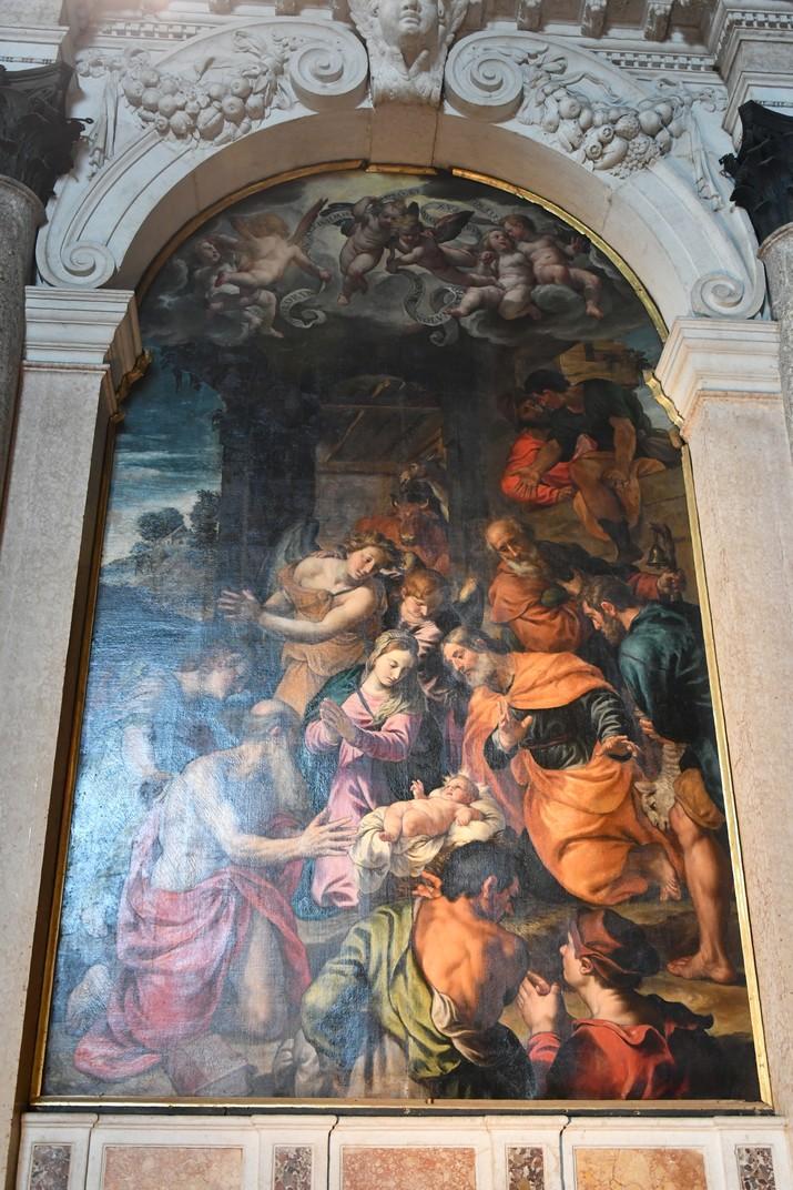 Altar de Sant Josep de l'església superior de Sant Fermo de Verona