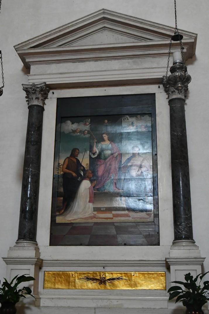 Altar de Santa Justina de la Catedral de San Pere Apòstol de Treviso