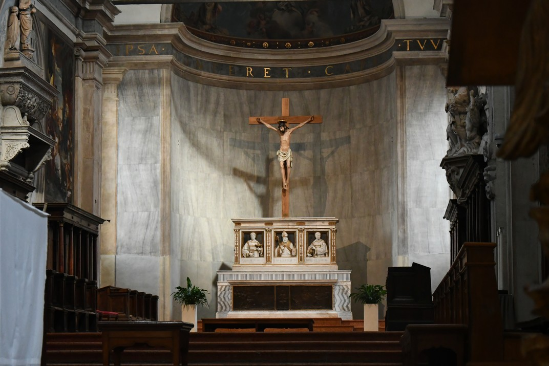 Altar major de la Catedral de San Pere Apòstol de Treviso