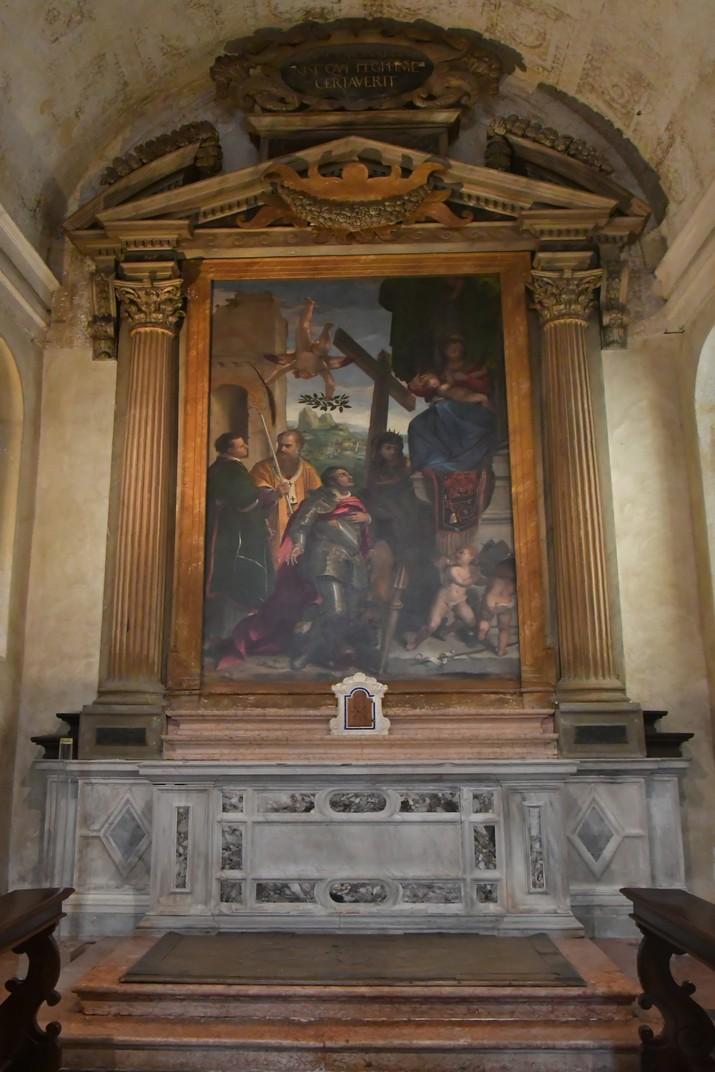 Altar major de l'església de Santa Elena del conjunt catedralici de la Catedral de Verona