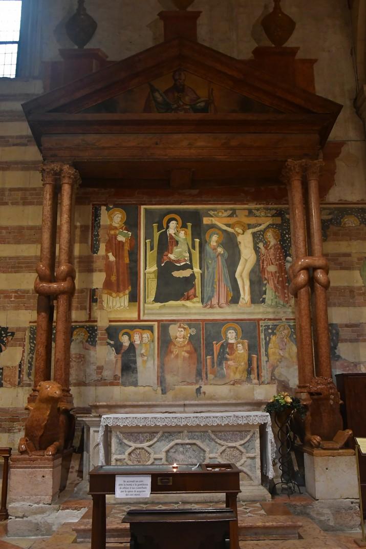 Altar romànic de la Basílica de Sant Zenó de Verona