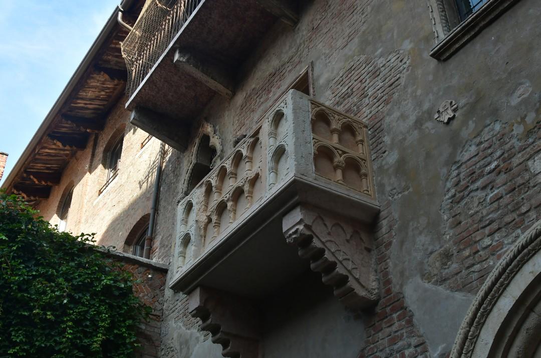 Balcó de la Casa de Julieta de Verona