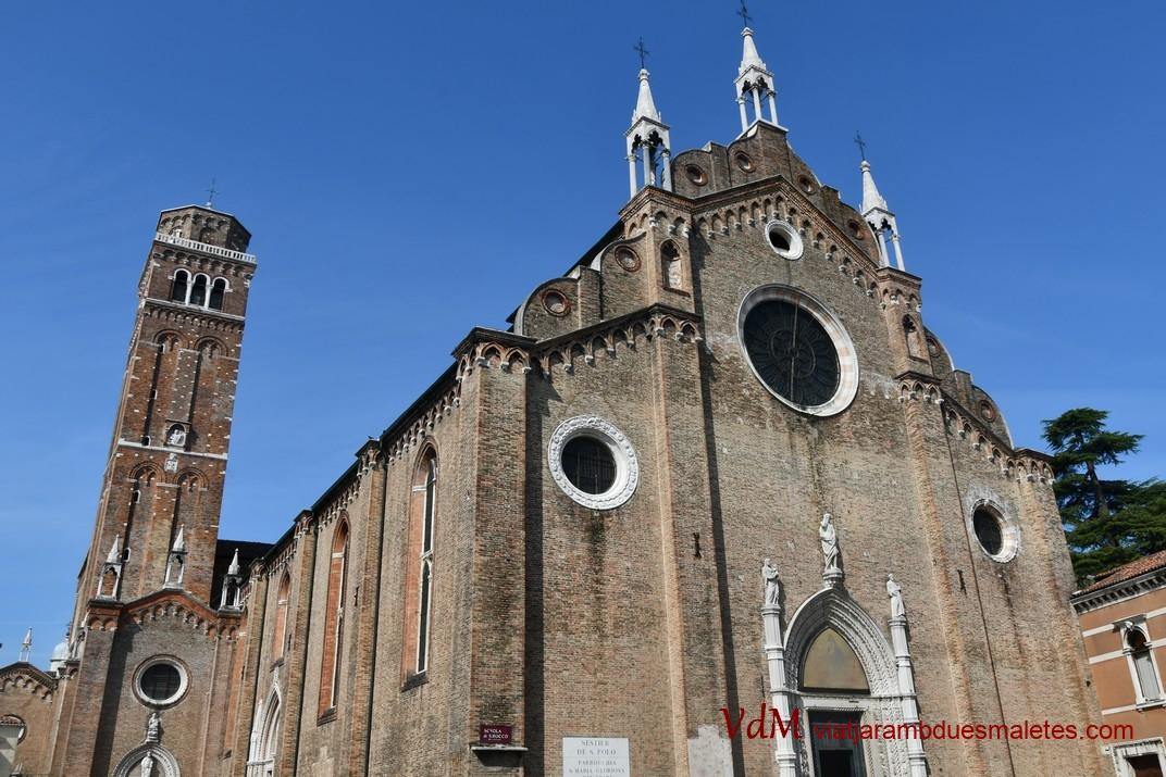 Basílica de Santa Maria Gloriosa dels Frares de Venècia