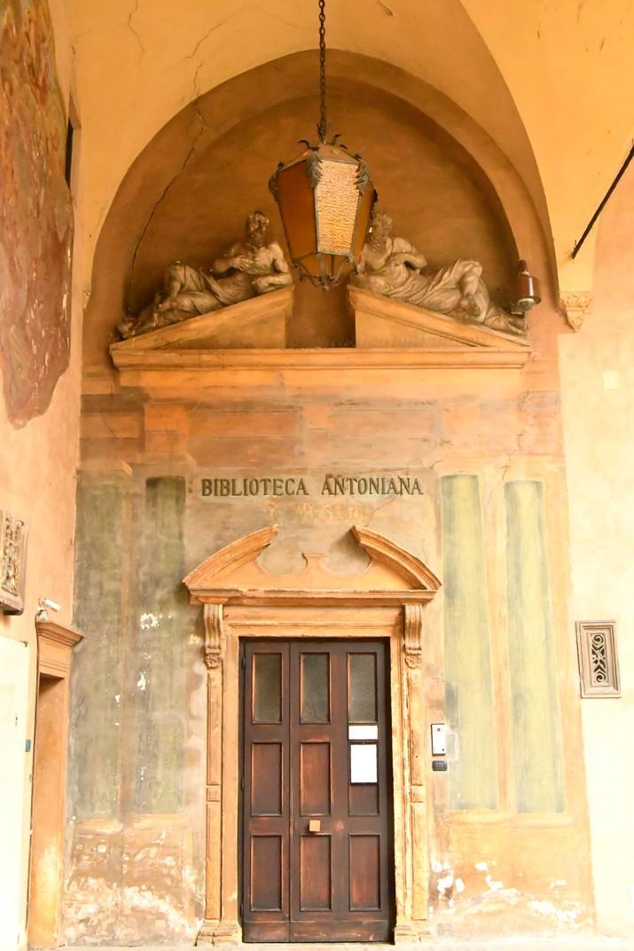 Biblioteca de la Basílica de Sant Antoni de Pàdua
