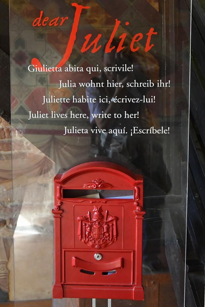 Bústia de la Casa de Julieta de Verona