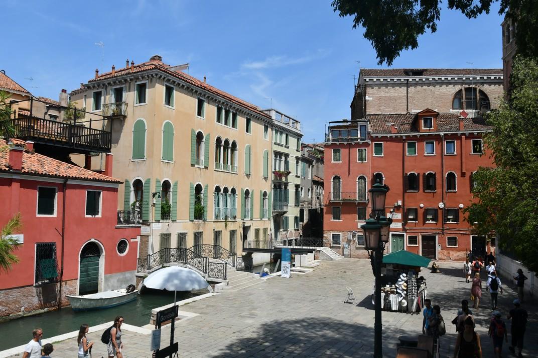 Campiello San Vidal del barri de San Marco de Venècia