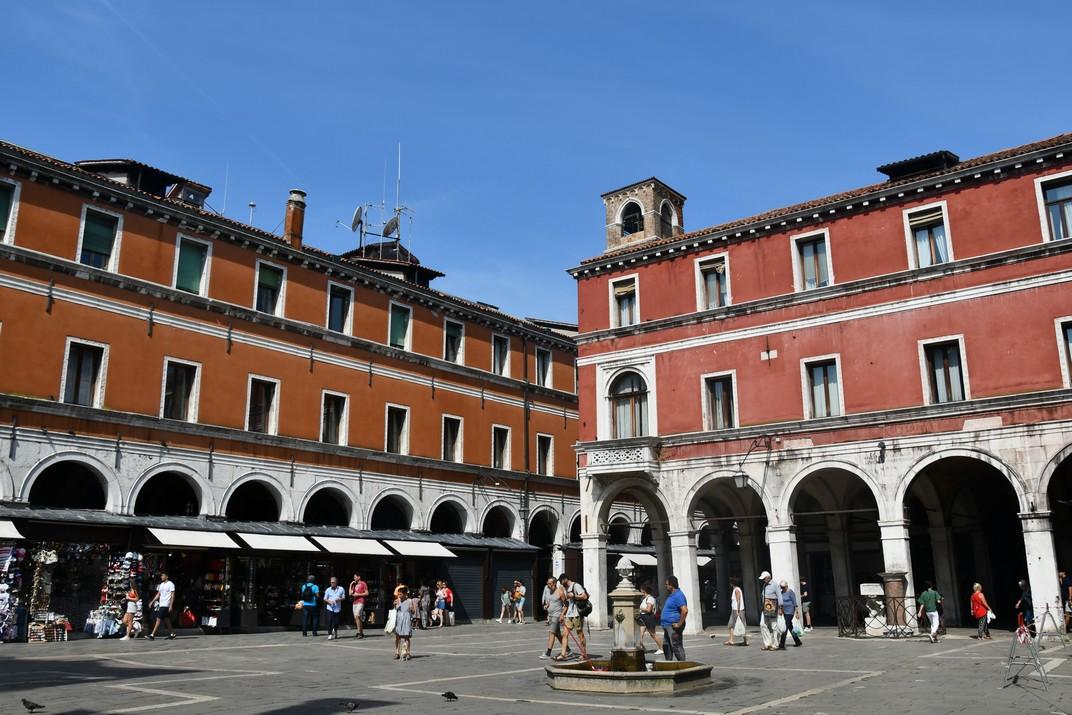 Campo San Giacomo de Rialto de Venècia
