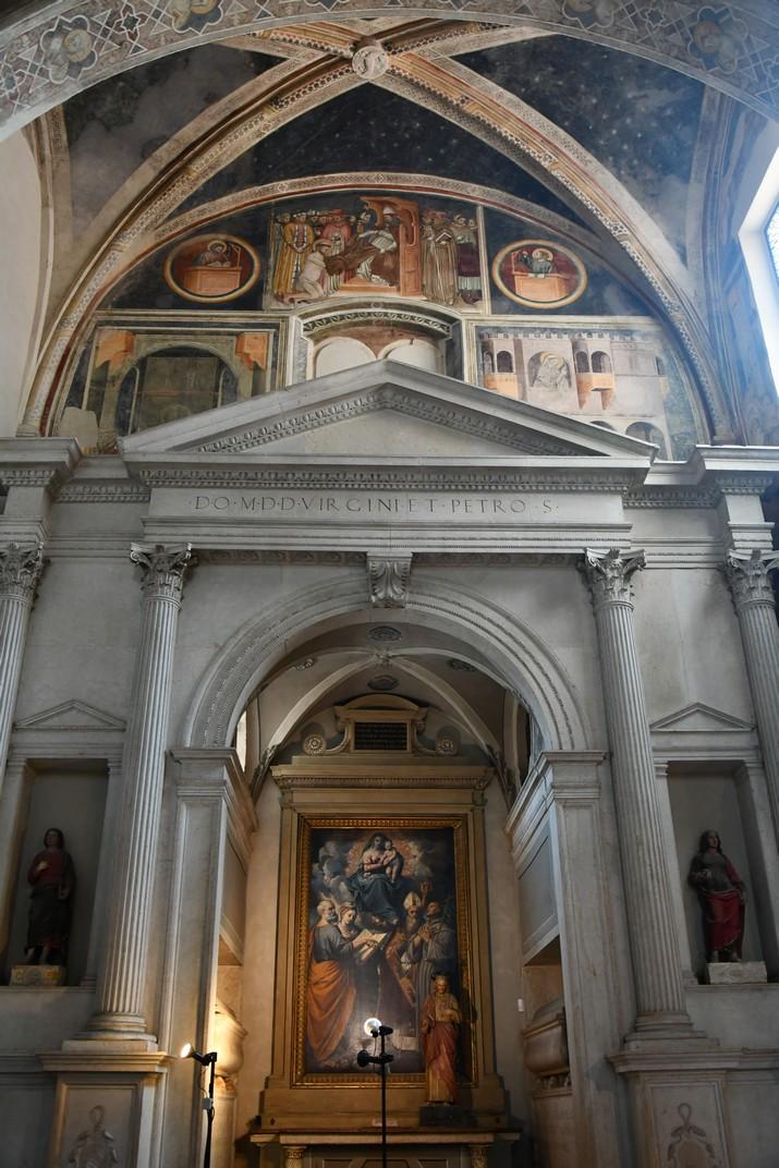 Capella Alighieri de l'església superior de Sant Fermo de Verona