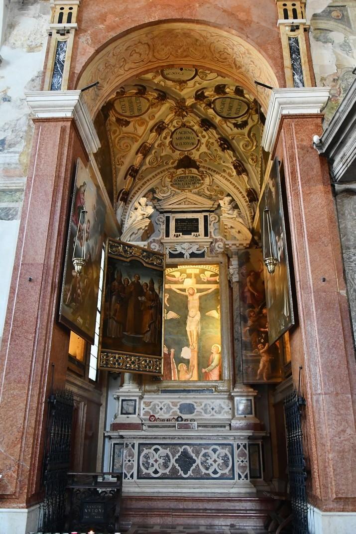 Capella de Sant Antoni de Pàdua de l'església superior de Sant Fermo de Verona