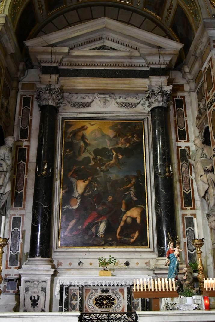 Capella de Sant Esteve de l'església de Jesús de Gènova