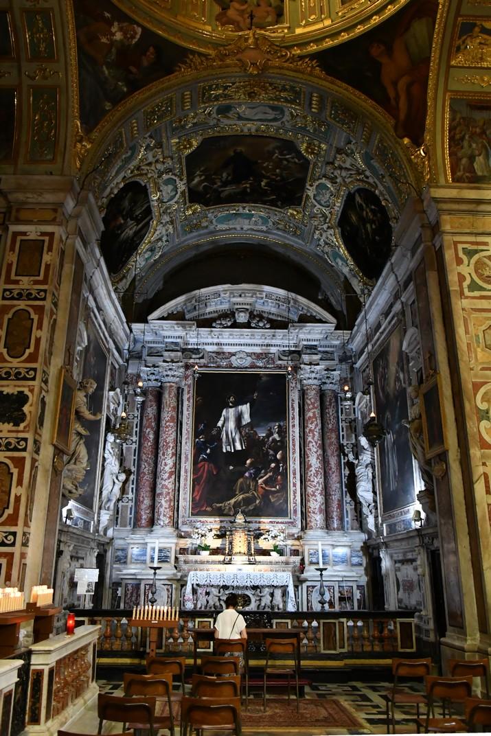 Capella de Sant Francesc Saverio de l'església de Jesús de Gènova