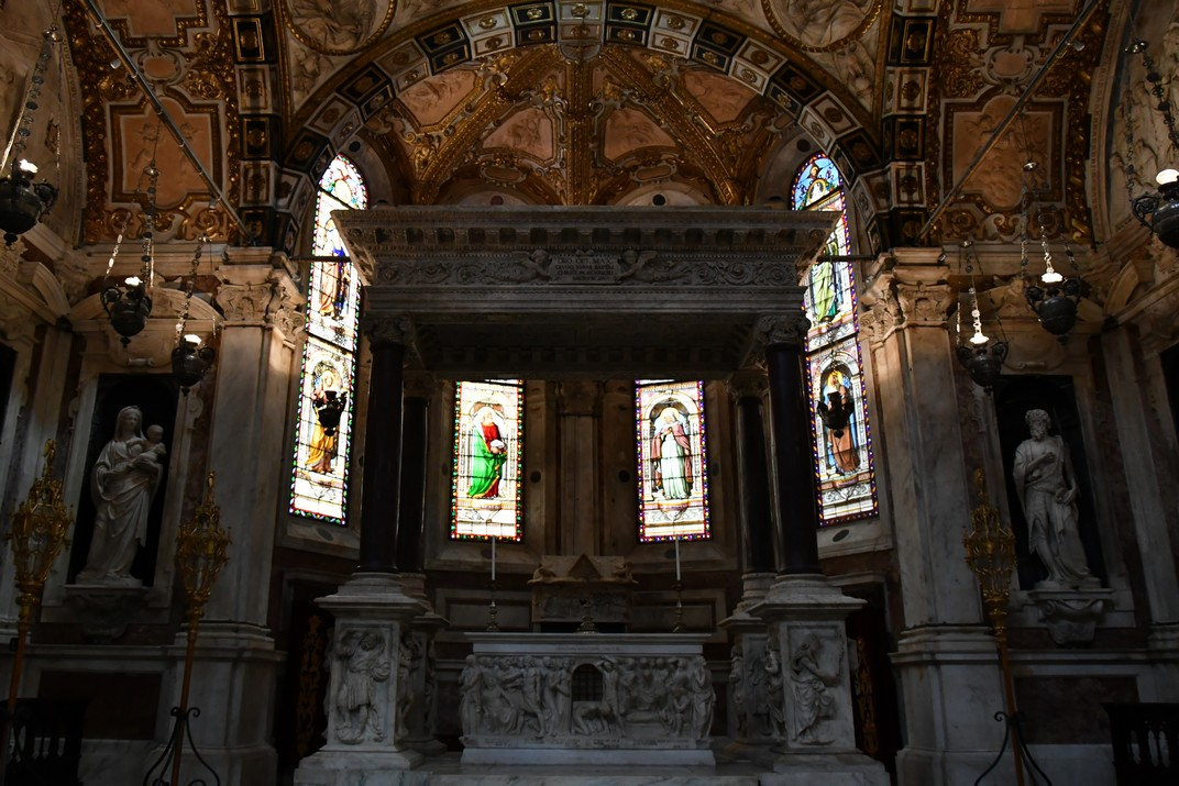 Capella de Sant Joan Baptista de la Catedral de Sant Llorenç de Gènova