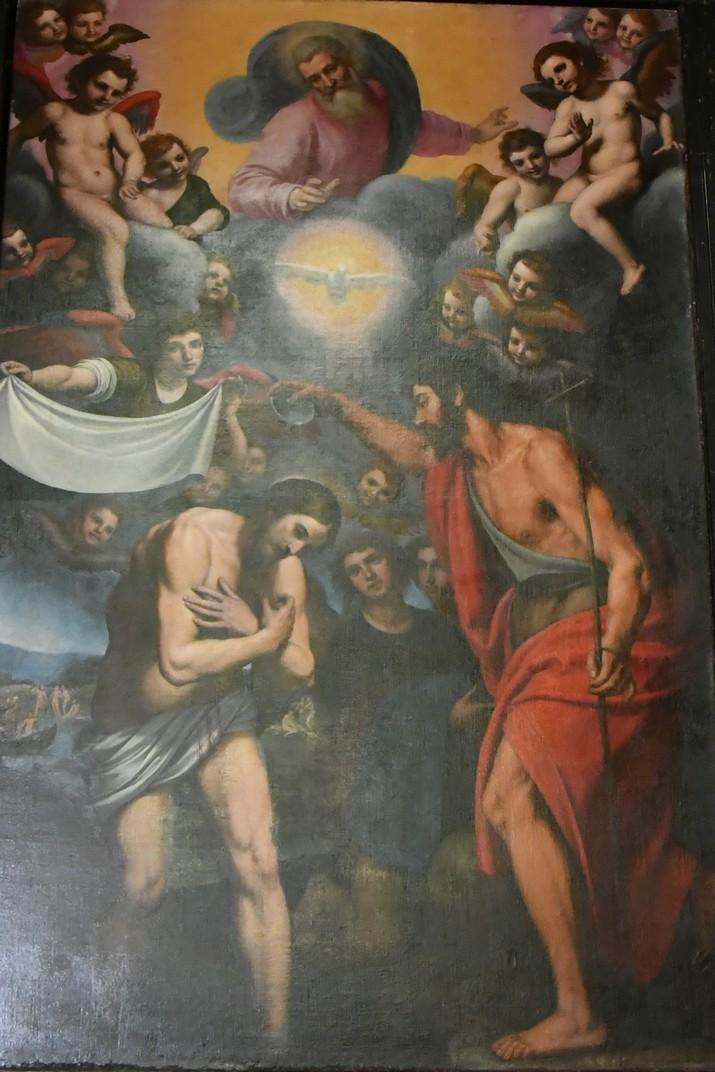 Capella de Sant Joan Baptista de l'església de Jesús de Gènova