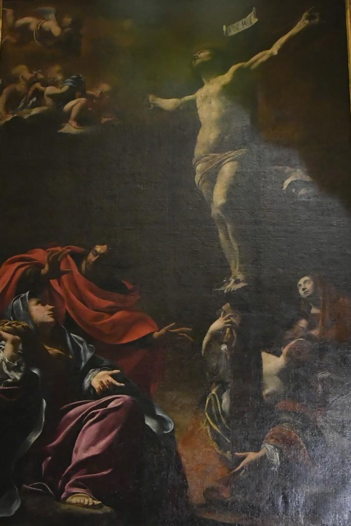 Capella del Crucifix de l'església de Jesús de Gènova
