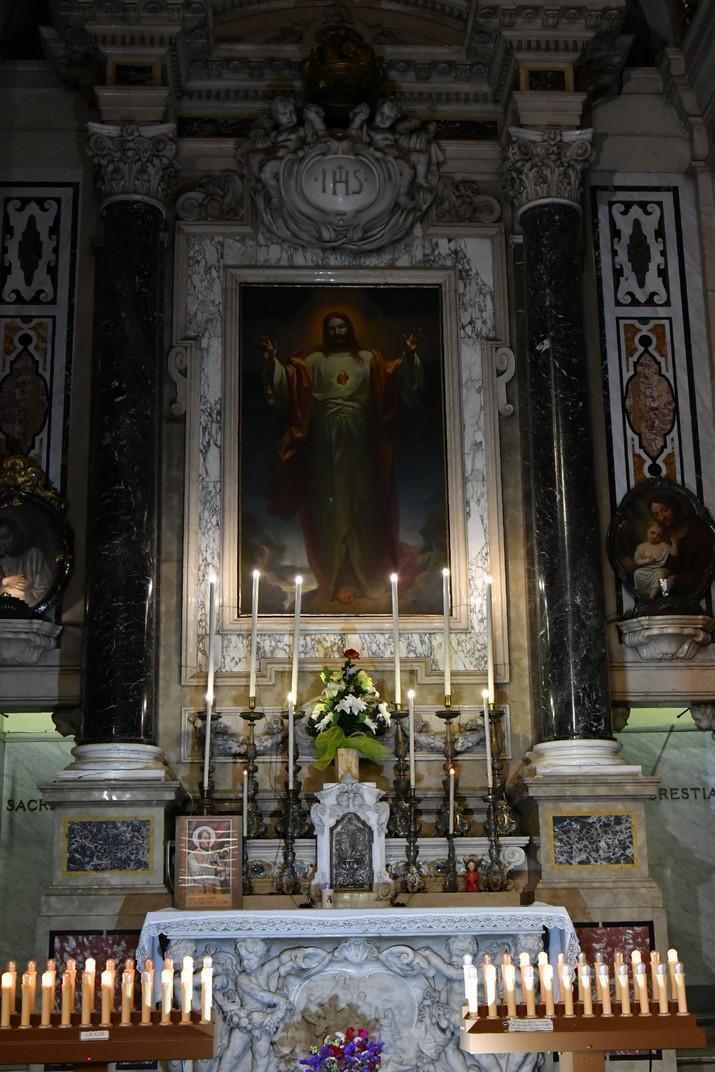 Capella del Sagrat Cor de l'església de Jesús de Gènova