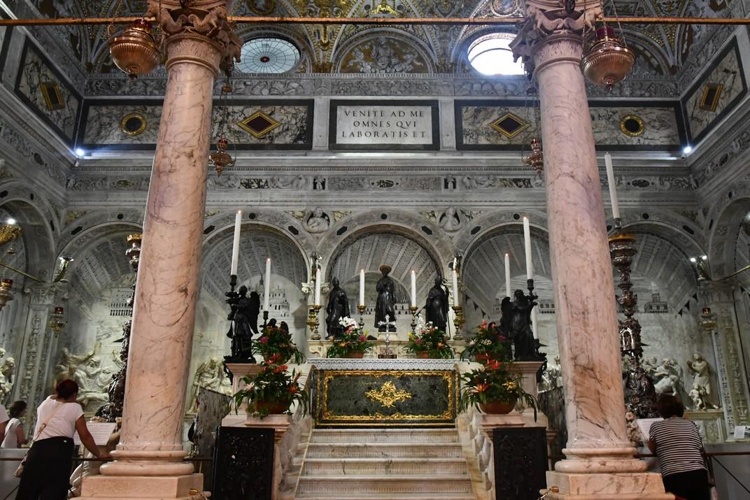 Capella del Sant de la Basílica de Sant Antoni de Pàdua