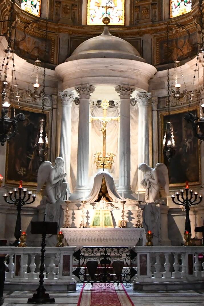 Capella Lecari de la Catedral de Sant Llorenç de Gènova