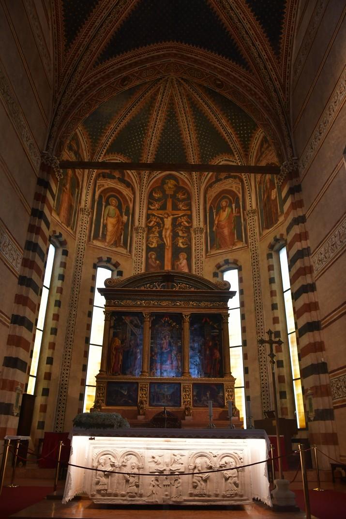 Capella major de la Basílica de Sant Zenó de Verona