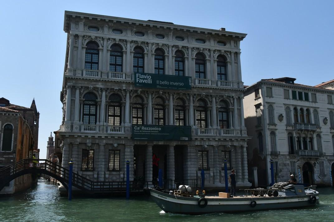 Ca'Rezzonico del Gran Canal de Venècia