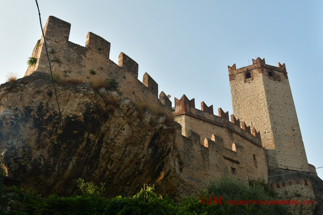 Castell Scaligero de Malcesine de Garda