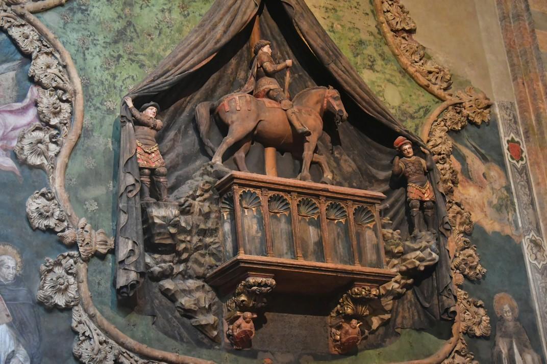 Cenotafi de l'absis central de la Basílica de Santa Anastàsia de Verona