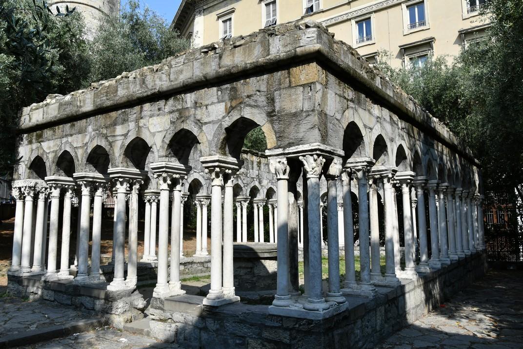 Claustre de Sant Andreu de Gènova