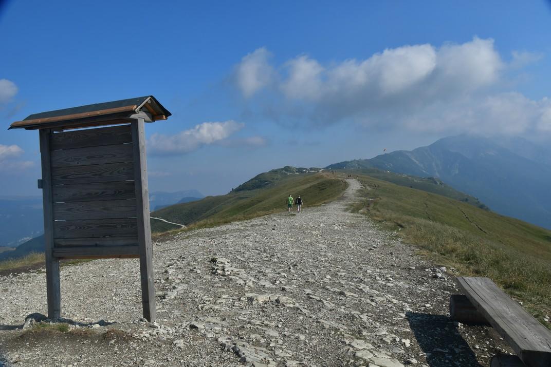 Colma de Malcesine del Mont Baldo de Garda