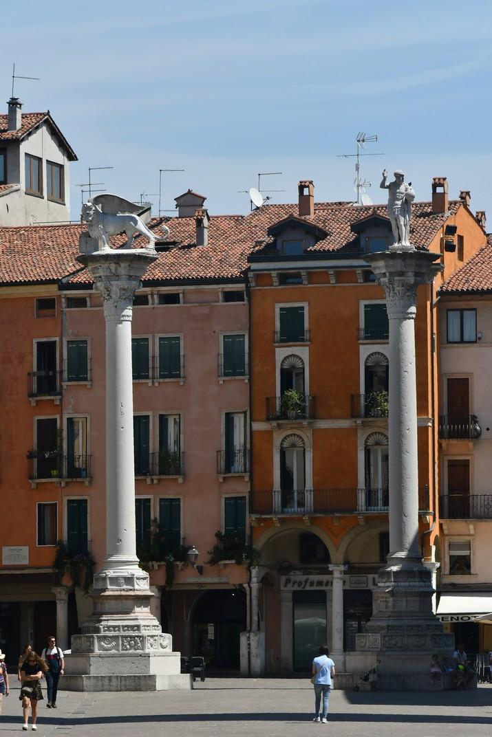 Columnes de la plaça dels Signori de Vicenza