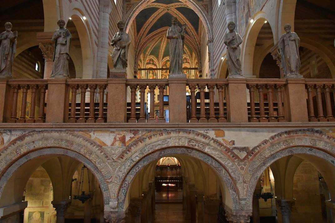 Cripta de la Basílica de Sant Zenó de Verona