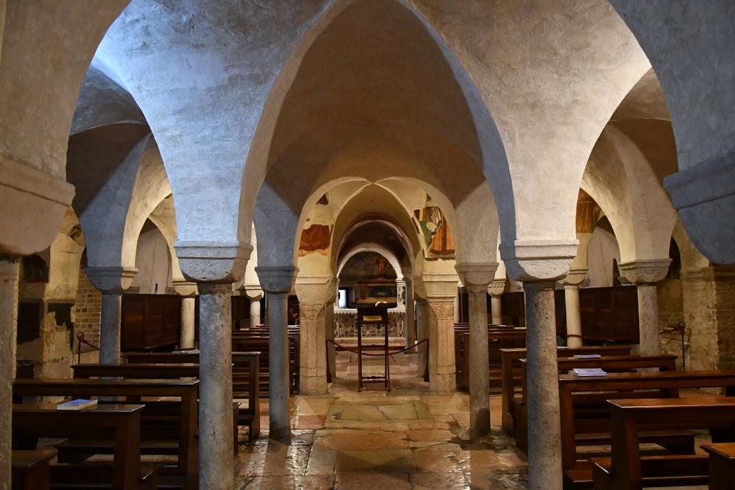 Cripta de la Catedral de San Pere Apòstol de Treviso