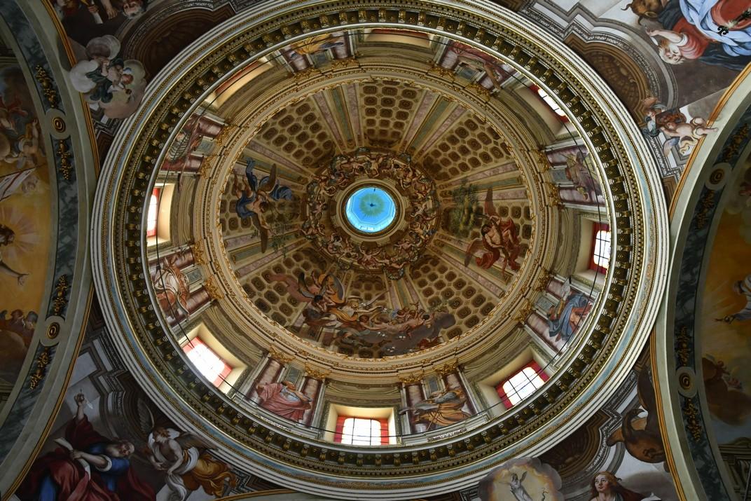 Cúpula del Santuari de Nostra Senyora de la Costa de Sanremo