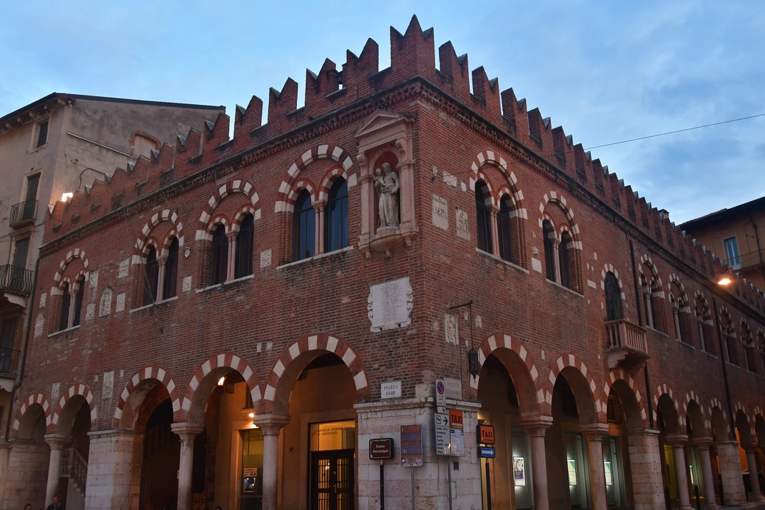 Domus Mercatorum de la plaça Erbe de Verona