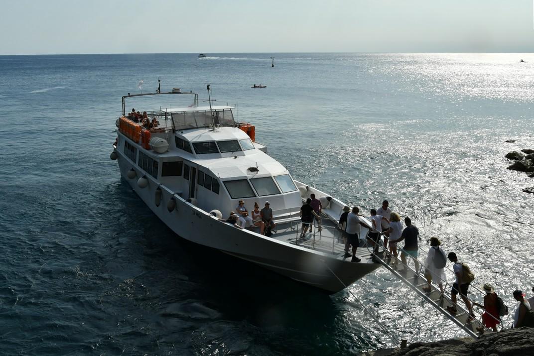 Embarcador de Riomaggiore