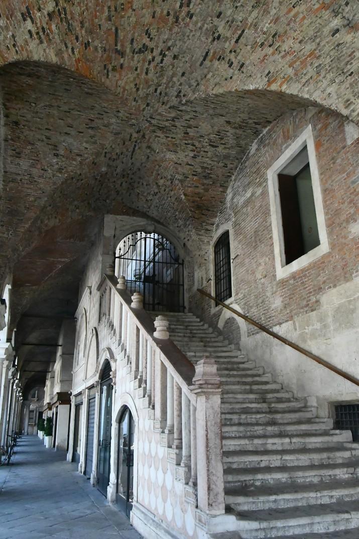 Entrada Basílica Palladiana de Vicenza