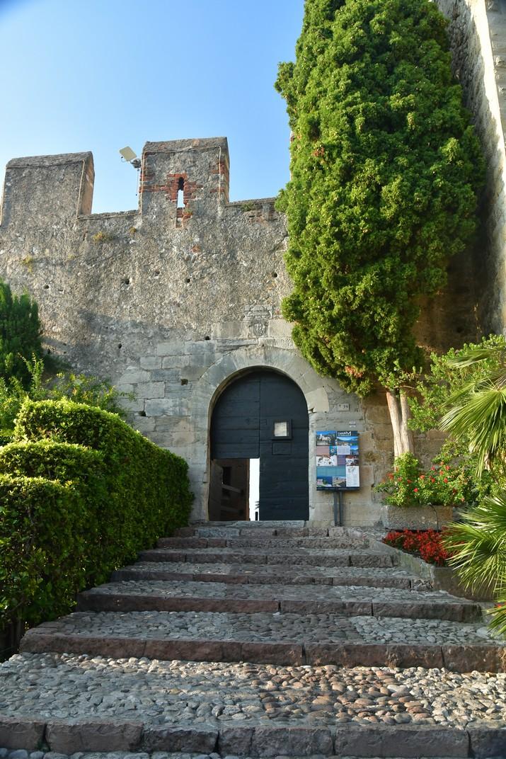 Entrada castell Scaligero de Malcesine de Garda
