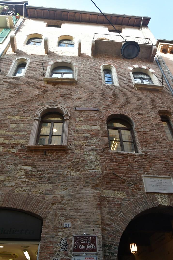 Entrada de la Casa de Julieta de Verona