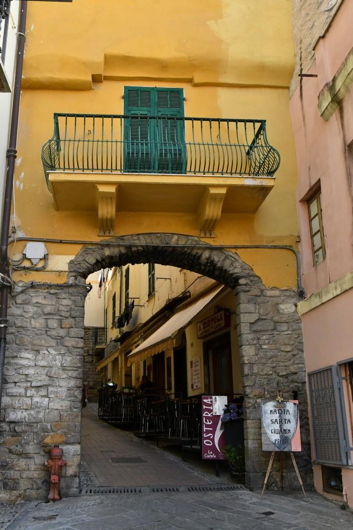 Entrada de la Pigna de Sanremo