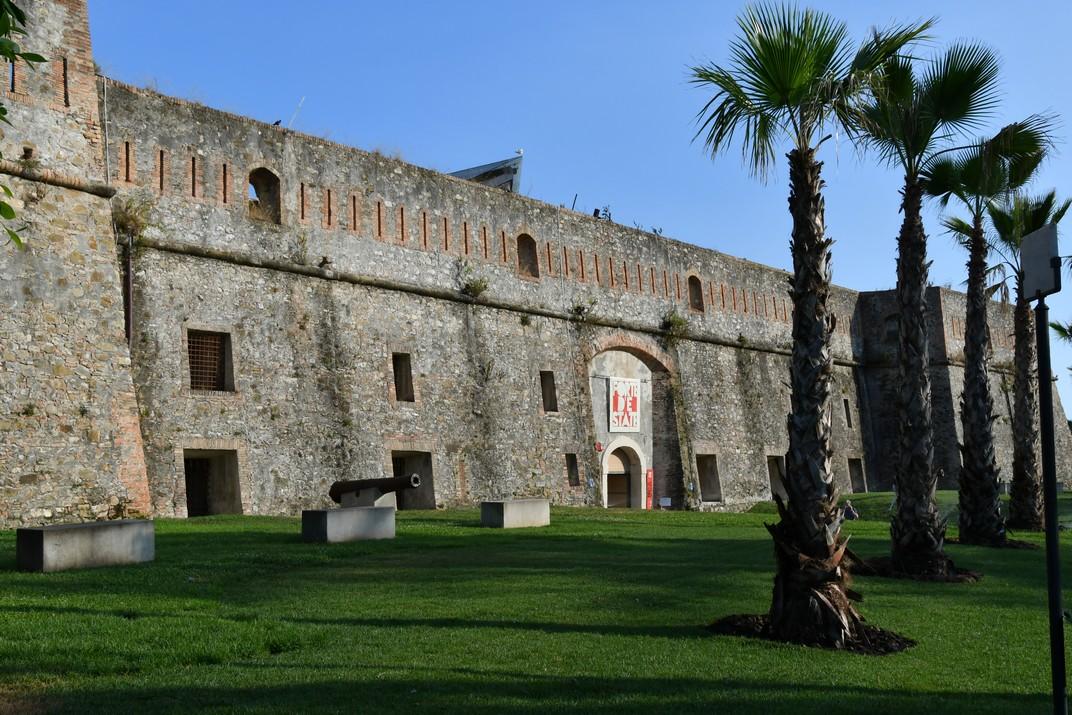 Entrada del Fort de Santa Tecla de Sanremo