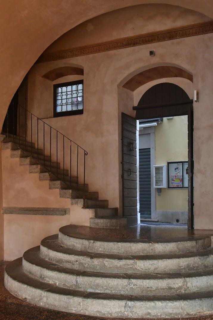 Entrada del Palau dels Capitans de Malcesine de Garda