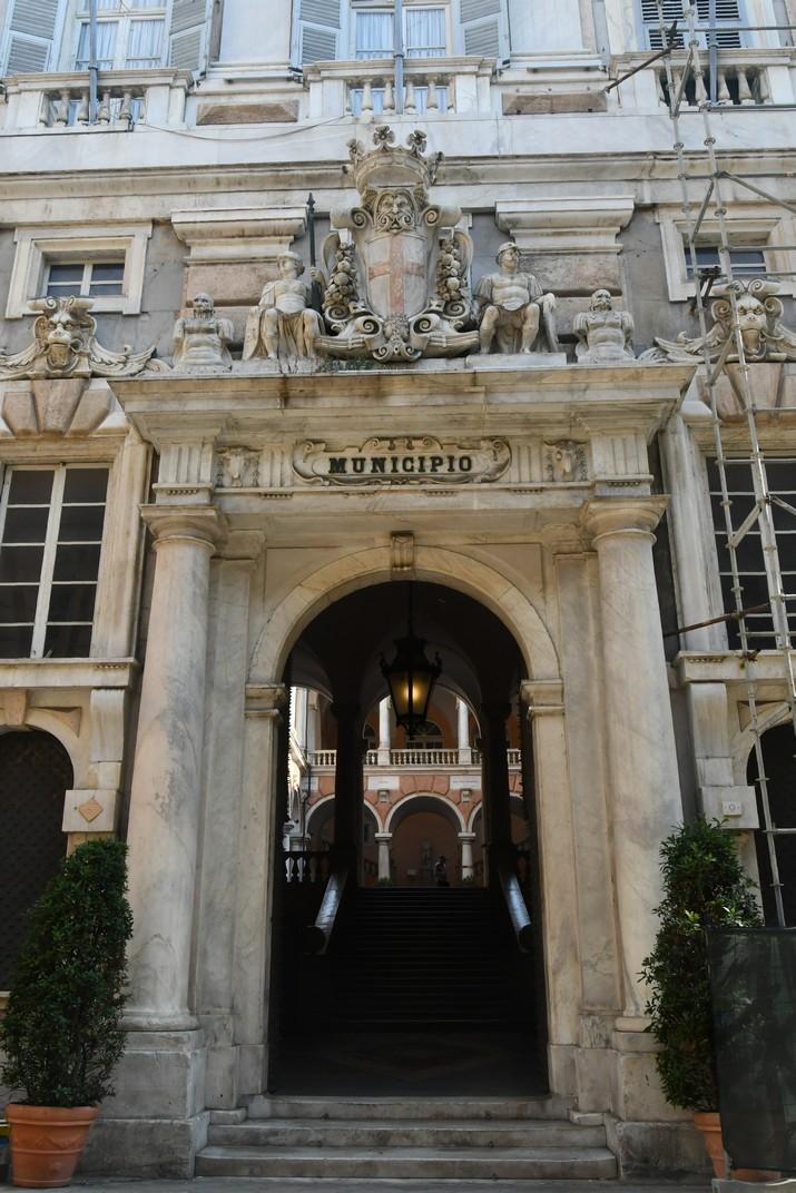 Entrada del Palau Doria-Tursi - Ajuntament de Gènova