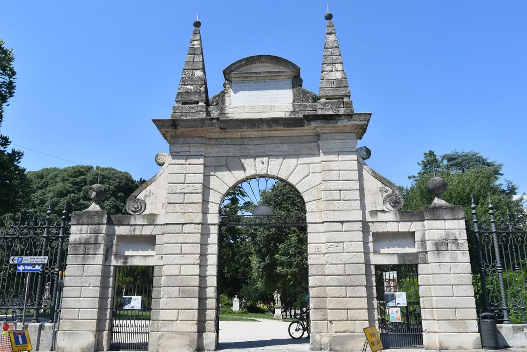 Entrada jardins Salvi de Vicenza