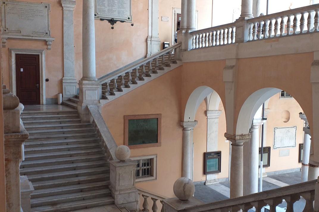 Escala interior del Palau Doria-Tursi - Ajuntament de Gènova