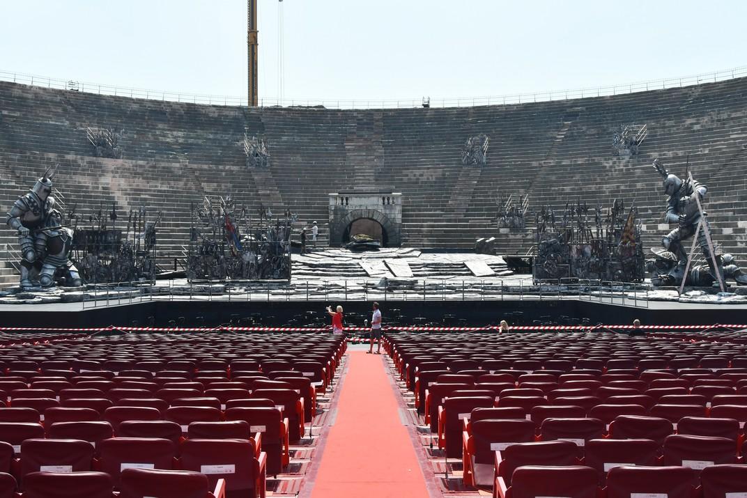 Escenari de l'Amfiteatre de Verona