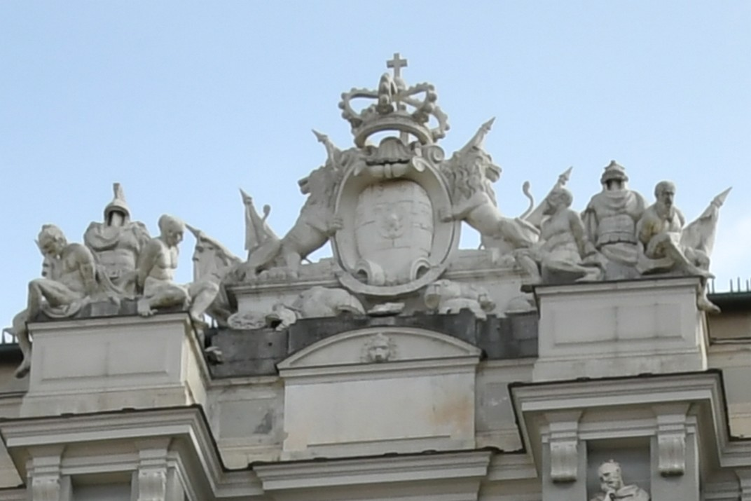 Escut del Palau Ducal de Gènova