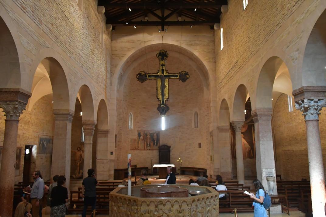 Església de Sant Joan de la Font del conjunt catedralici de la Catedral de Verona